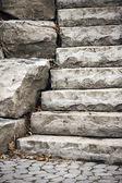 деталь гранж готический лестницы — Стоковое фото