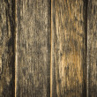 Worn wooden fence - Stock Photo