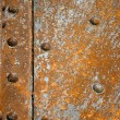 Rusty metal plate — Foto Stock