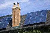 Close up of solar panel — Stock Photo