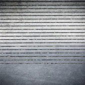 Striped metal surface ; abstract industrial background — Stock Photo