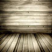 Grunge garage room — Stock Photo