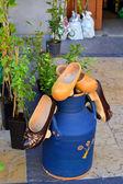 Typowe obuwie Asturii — Zdjęcie stockowe
