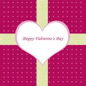 Cartolina di san valentino felice — Foto Stock