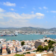 Stock Photo: Panoramic view of Ibiza