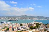 Panoramic view of Ibiza — Stock Photo
