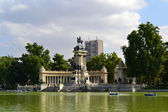 Retiro Park in Madrid — Stock Photo