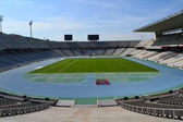 Montjuic Olympic stadium — Stock Photo