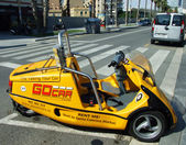Barcelona Go Car — Stock Photo