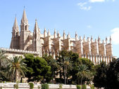 Cathedral of Palma de Mallorca, Spain — Stock Photo