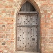 Old doorway and door — Stock Photo