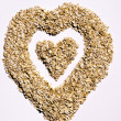 I love oatmeal — Stock Photo