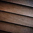 Wooden stained boards — Stock Photo