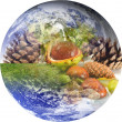 Stock Photo: Resources of planet Earth