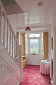 Entrance hallway to a semi detached house — Foto de Stock