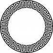Stock Vector: Ancient circular design
