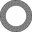 Stock Vector: Ancient circular design 2