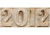 "Stone ""2012"" — Foto Stock"
