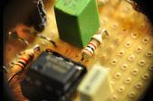 Electronic circuit — Stock Photo