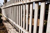Wood Fence — Stockfoto