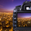 Digital camera capturing — Stock Photo