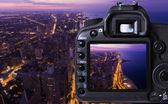 Digital camera capturing — Stock Photo