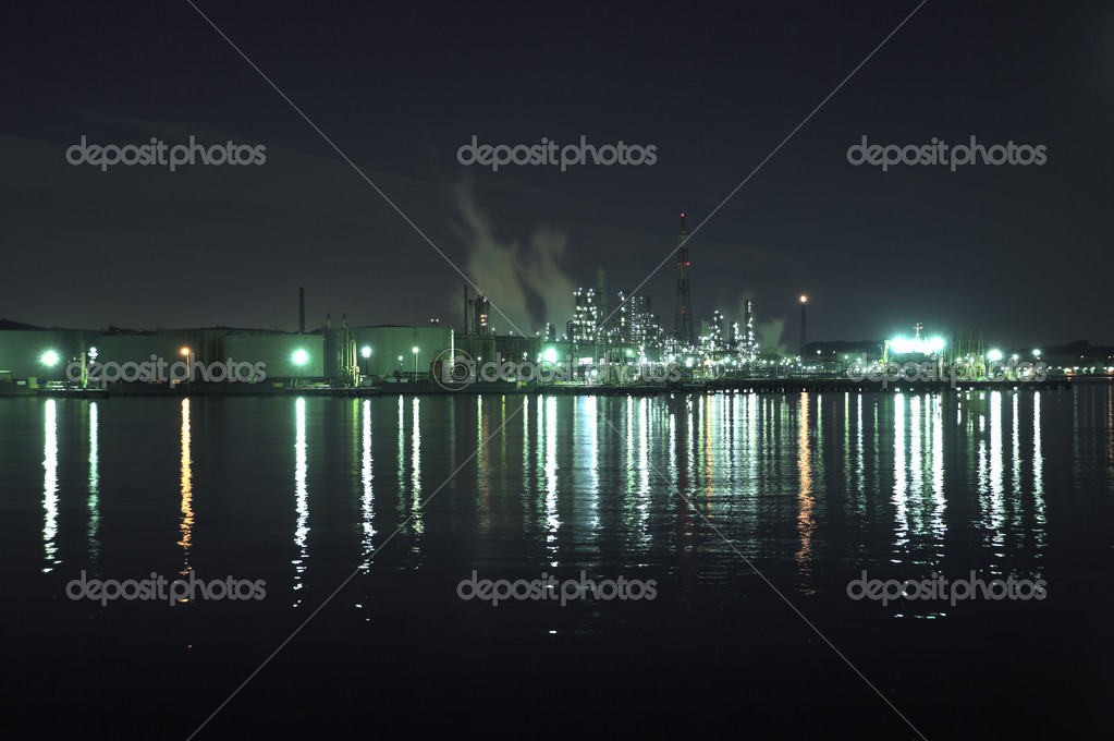 Industrial district — Foto Stock #8812713