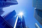 都市の高層ビルの環境 — ストック写真