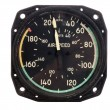 Stock Photo: Airspeed indicator