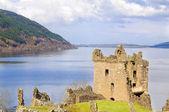 Urquhart Castle on Loch Ness in Scotland — Stock Photo