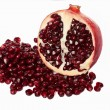 Red pomegranate fruit. - Stock Photo