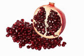Red pomegranate fruit. — Foto de Stock