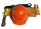 Shlei arancioni e diversi strumenti — Foto Stock
