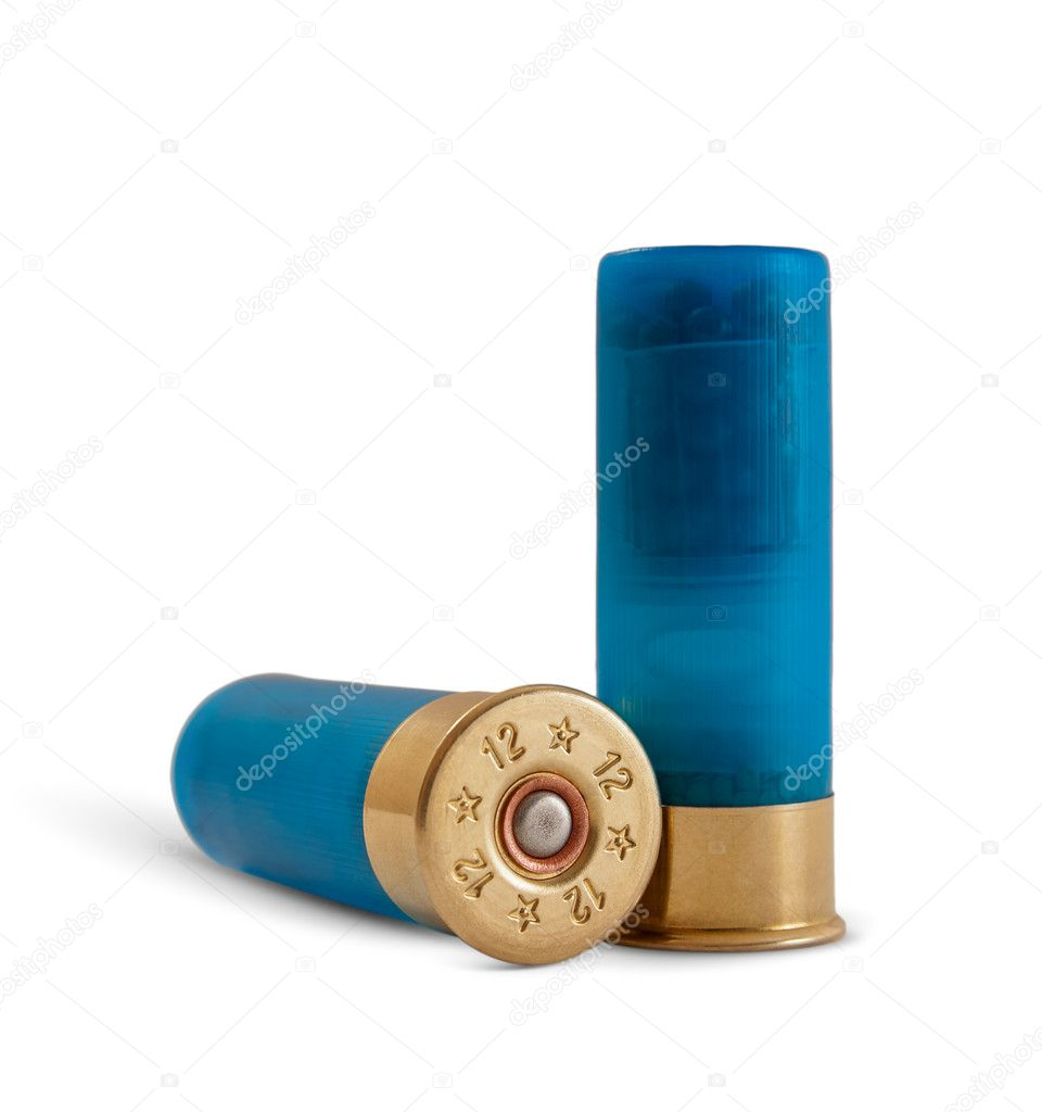 Bullets isolated on white background — Stock Photo #9111596