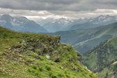 Caucasian mountains — Stock Photo
