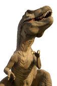 Tyrannosaurus Rex isolated in white — Stock Photo