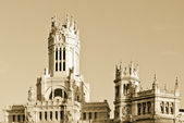 Central Post Office, Madrid, Spain. — Stock Photo