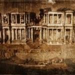Roman amphitheater of Merida, Spain (old style) — Stock Photo #8693798