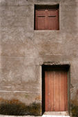 Detail Front of a rural house, Spain — Stock Photo