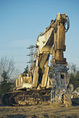 Machine of demolitions — Stock Photo