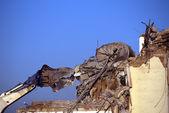 Stroj demoliční práce — Stock fotografie