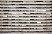 Facade of a building block — Stock Photo