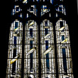 The mosaic window in cathedral of Saint-Jean, Lyon, France. — Stock Photo #8803453