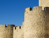 The walls of the castle of Simancas, Spain — Stock Photo
