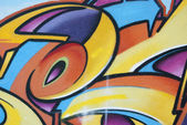 Graffiti abstract colors Forms — Stock Photo