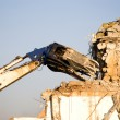 Machine of demolition work — Stock Photo