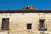 Abandoned rural house in ruins, Spain — Stock Photo