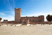 La Mota castle in Medina del Campo, Valladolid, Spain — Stock Photo