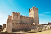 La Mota - La Mota castle, Valladolid, Spain — Stock Photo