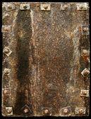 Rusting metal plate — Stock Photo